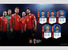 Copa do Mundo confira o rating da seleção da Espanha em