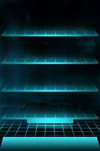 Tron Shelf iPhone 4 Wallpaper and iPhone 4S Wallpaper ...