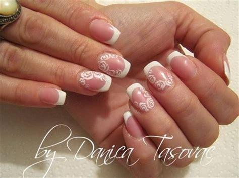Nail Art For Wedding Ideas : Bridal Wedding Nail Art #2059128