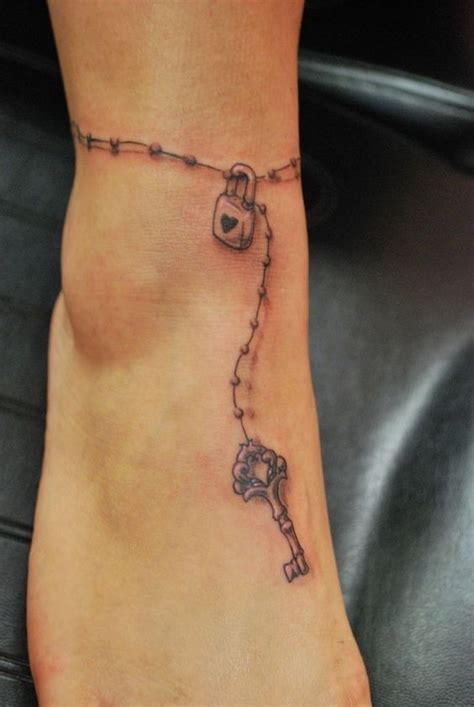 ankle bracelet tattoos Google Search Ankle bracelet