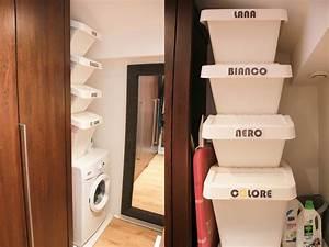 Bac A Linge Ikea : diy organiser son linge sale mini buanderie monday ~ Melissatoandfro.com Idées de Décoration