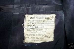Naval clothing label identification pinterest for Clothing identification labels