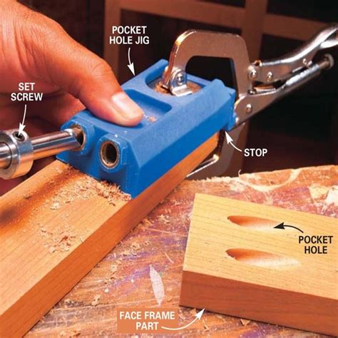 woodworking   pocket holes