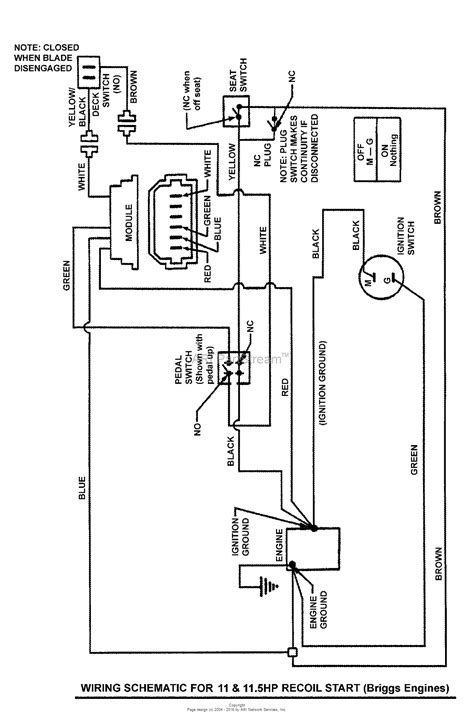 Brigg And Stratton 11 Hp Wiring Diagram by Snapper 3011523bv 7800648 30 Quot 11 5 Hp Rear Engine Rider