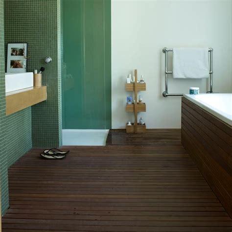 bathroom flooring ideas uk slatted teak modern bathroom flooring ideas