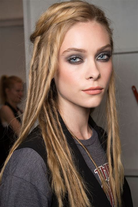 nyfw ss  hairstyles hairstyles  hair colors