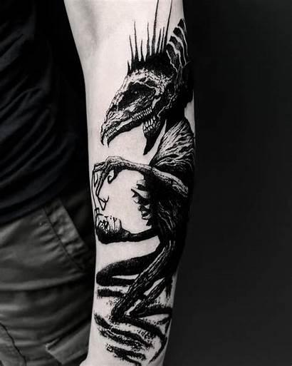 Demonic Tattoos Morty Tattoo Inkppl Tatoo Artist