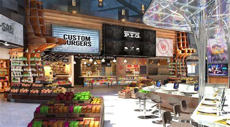 Newark Airport Plans Futuristic Airport Dining Dreamland