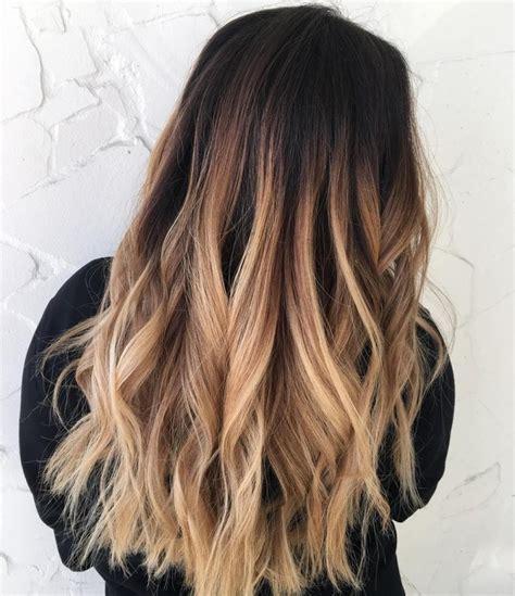 farbverlauf haare braun blond ombre blond f 252 r braune und haare f 228 rbetechniken