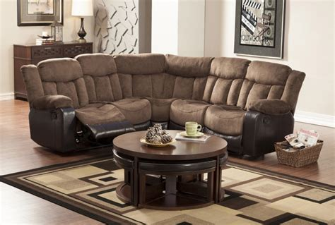 small sectional sofa with recliner small sectional reclining sofa okaycreations net