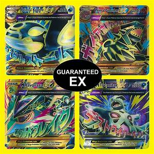 Pokemon TCG 5 Card Lot: GUARANTEED EX, FULL ART EX, or ...