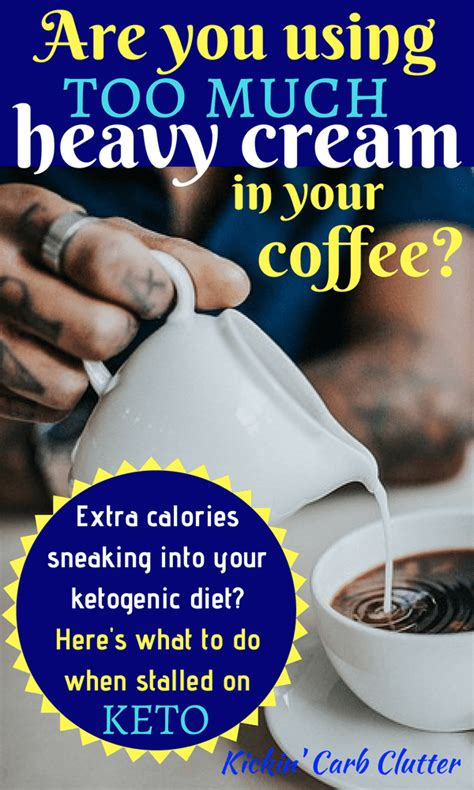 As low sugar regulates the insulin in a diabetic patient. Are You Using Too Much Heavy Cream in Your Coffee?