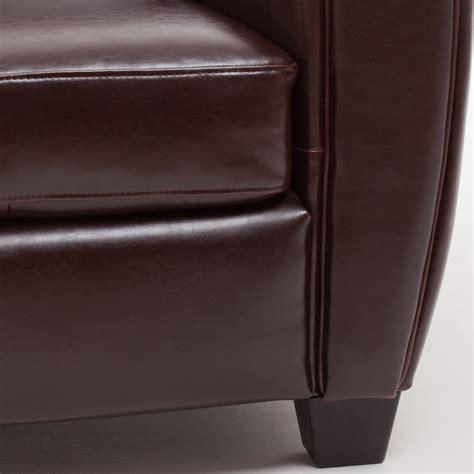 canap croute de cuir canapé 3 places convertible 2 fauteuils clubs
