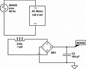 Microcontroller - Simple Wire Loop For Detecting Ac Mains Activity