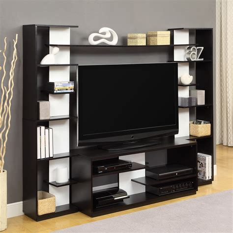 altra furniture home entertainment center with reversible