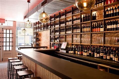 Bar Nyc by Terroir Wine Bar Nyc The Concrete And Wine Bottles Are