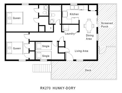 one level floor plans wonderful 59 simple small house floor plans one level 1200
