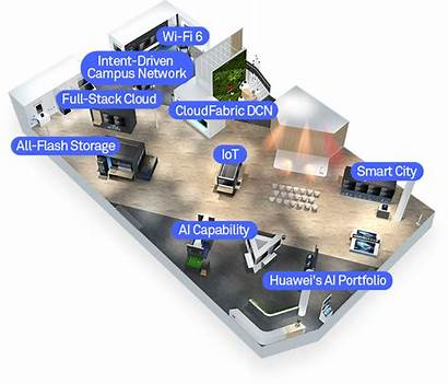 Digital Exhibition Huawei Platform Booth Transformation Smart