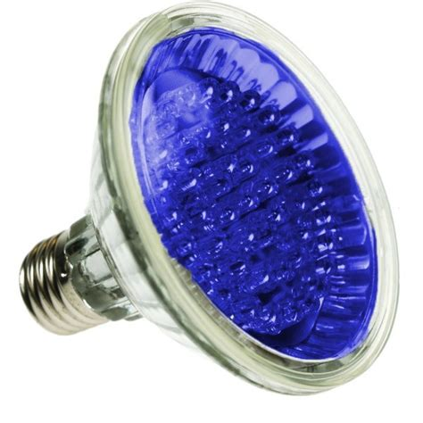 par30 led spotlight bulb e27 blue 24 led led ls led