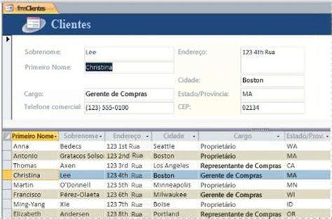 Banca Dati Pra by Criar Um Formul 225 No Access Access