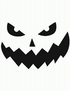 image gallery jack o lantern patterns With evil pumpkin face template