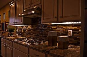 Lighting for kitchen photography : Under cabinet led lighting house ideals
