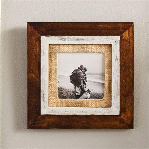 picture frames with mats malden cedar burlap mat picture frame reviews wayfair