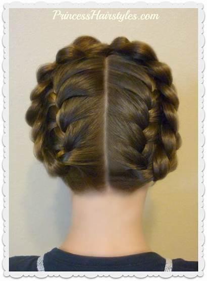 Halo Braid Easy Braids Crown Heidi Hairstyle
