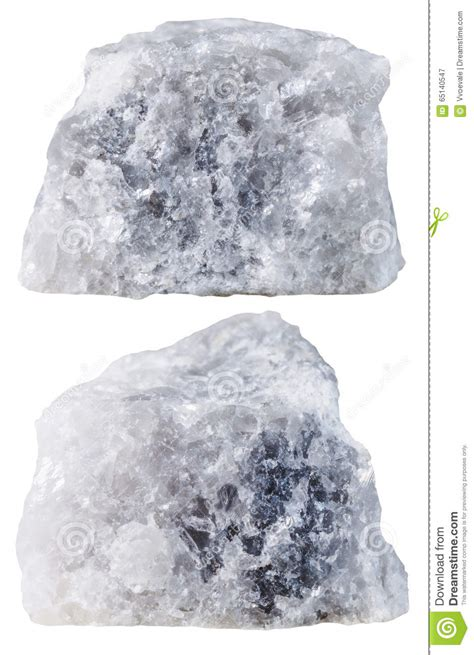 marble pieces two pieces of marble mineral stone isolated stock image