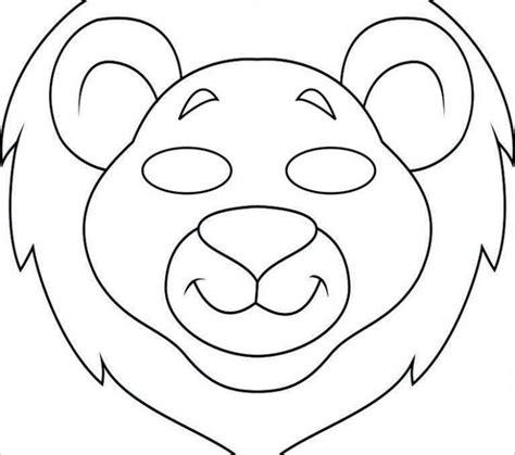Pig mask template print maxwellsz