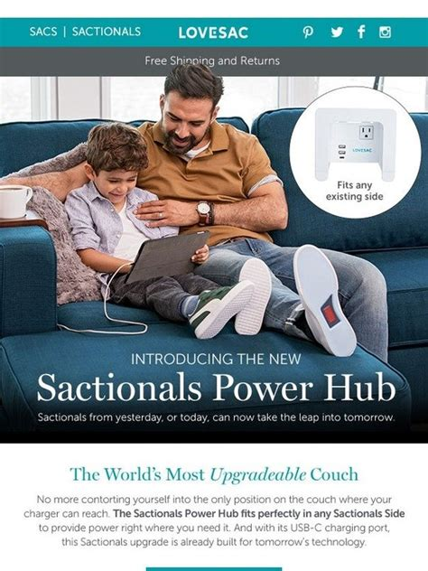 Lovesac Credit Card by Lovesac Power Where You Need It Most The New Sactionals