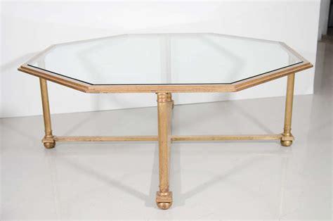 Octagonal Gilt Coffee Table With Glass Top For Sale At 1stdibs White Zombie Coffee Vienna Aromatherapy Benefits New Zealand Yemen Bean Job Science Luwak Berbahaya