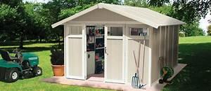 grosfillex utility 11 plastic pvc shed With abri de jardin pvc grosfillex