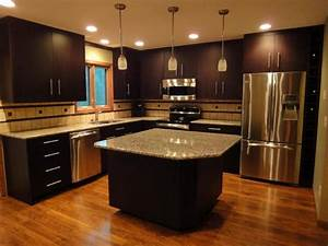 brown kitchen cabinet colors cool kitchen cabinets With kitchen colors with white cabinets with cool kids wall art