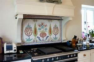 Handmade kitchen tiles some handmade tiles designed and for Interior design kitchen splashbacks