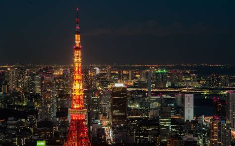 tokyo tower of light hd wallpaper hd latest wallpapers