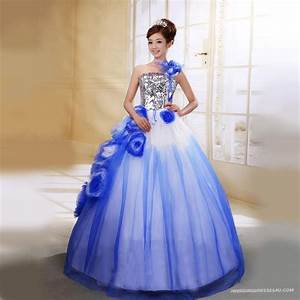 33 best ugly prom dresses images on pinterest party wear With wedding dresses with color blue