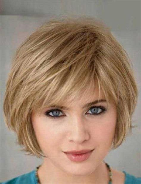 short hairstyles  fine straight hair   short