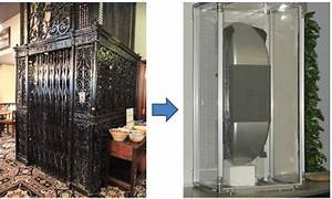 Left Is A Photograph Of The Otis Elevator Introduced In