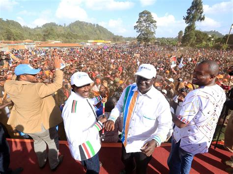 Nasa To Hold Major Rallies In Kitengela-kajiado