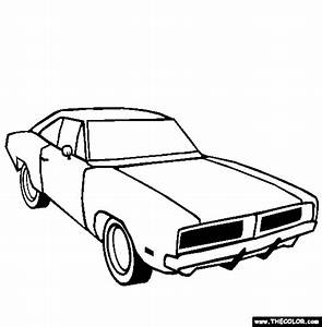 cars online coloring pages page 1 With dodge demon concept