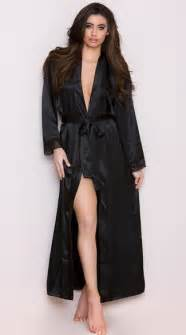 asos robe de mariage satin and lace trimmed robe robes for robes