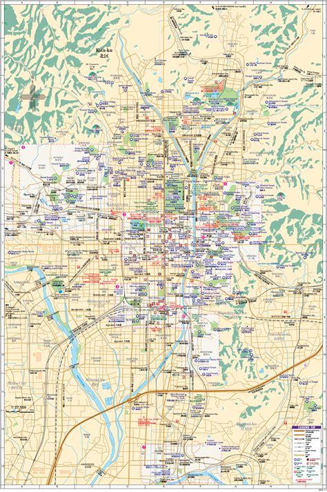 kyoto maps youinjapannet