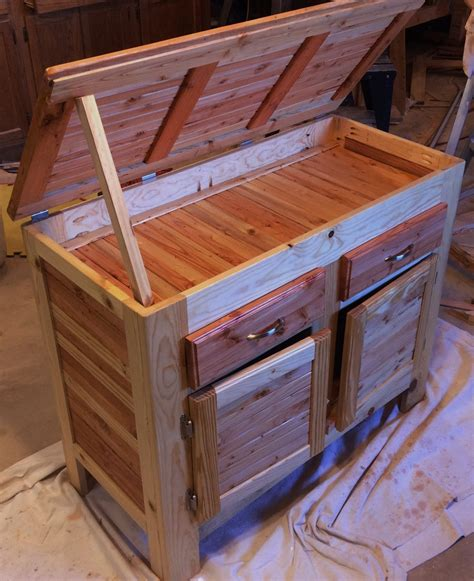 closet doors pallet wood cabinet with compartment lid drawers