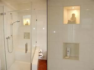 Bodenfliesen Für Dusche : dusche nische licht verschiedene design ~ Michelbontemps.com Haus und Dekorationen