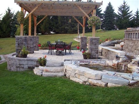 backyard patio pictures and ideas