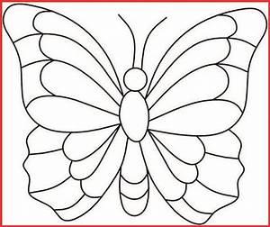 Ausmalbilder Schmetterling Zum Drucken - Rooms Project
