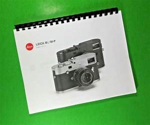 Leica Mp  Type 240  Camera 128 Page Laser 8 5 X 11 U0026quot  Owners