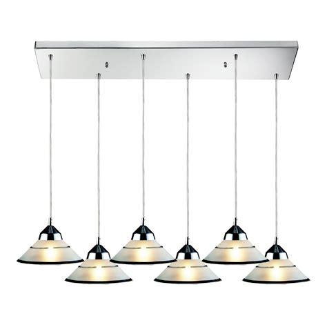 elk lighting 1477 6rc refraction 6 light multi pendant