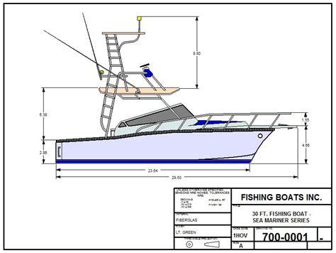 Fishing Boat Designs 1 by Fishing Boat Designs Cad Pro